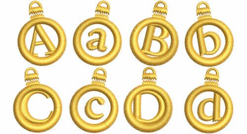 Ornament Applique 20mm Font