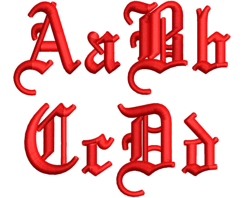 3DFoamOldEnglish40mm_ABC