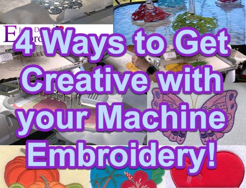 4 Ways to Get Creative with Your Embroidery