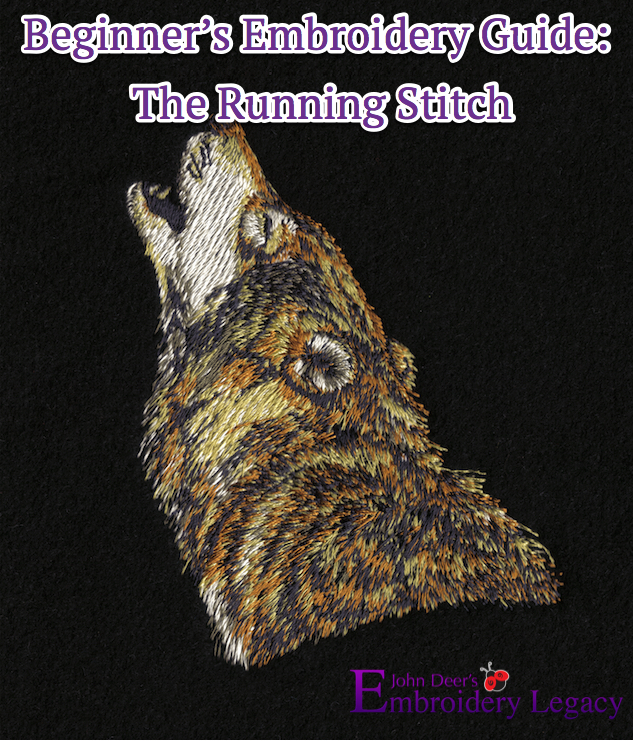 Running Stitch Embroidery