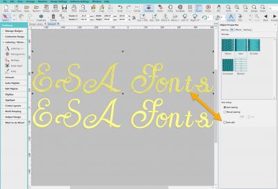 Font Stitch Types