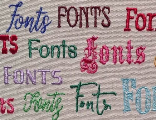 A Complete Guide to Machine Embroidery Fonts