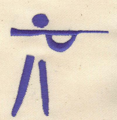 Embroidery Design: Marksman 2.16w X 2.26h