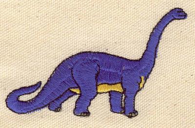 Embroidery Design: Dinosaur Brontosaurus 3.13w X 2.03h