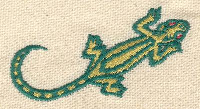 Embroidery Design: Lizard A 2.53w X 1.46h