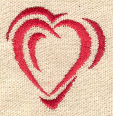 Embroidery Design: Hearts 1.94w X 1.96h