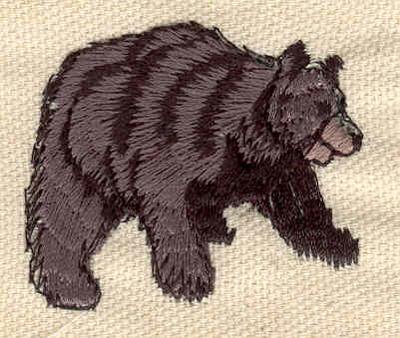 Embroidery Design: Bear B 1.69w X 1.51h