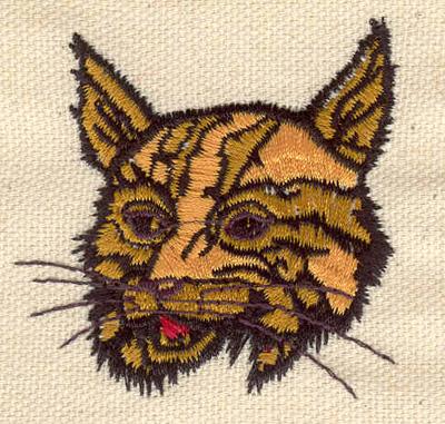 Embroidery Design: Bobcat 2.09w X 2.13h