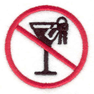 Embroidery Design: Don't Drink & Drive2.10w X 2.10h
