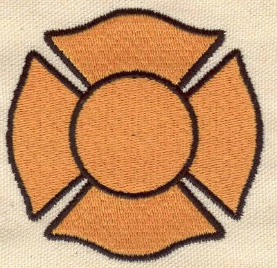 Embroidery Design: Maltese Cross 3.00w X 3.00h