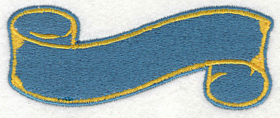 """Embroidery Design: Banner 61.60"""" x 4.00"""""""