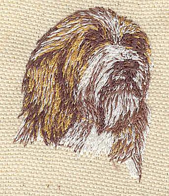 Embroidery Design: Dog B 1.40w X 1.80h