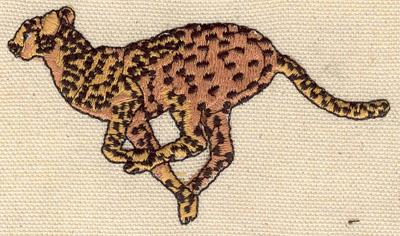 Embroidery Design: Cheetah 3.70w X 2.20h