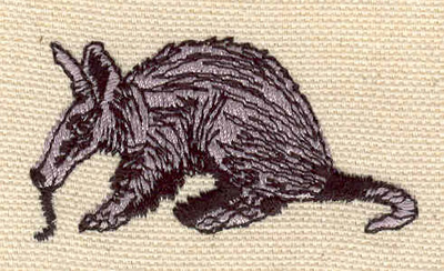 Embroidery Design: Anteater 2.15w X 1.10h