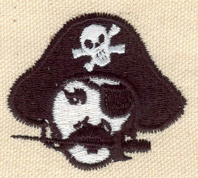 Embroidery Design: Pirate A 1.90w X 1.70h