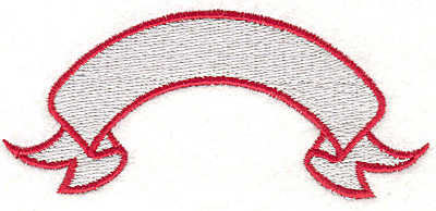 """Embroidery Design: Banner 71.60"""" x 3.70"""""""
