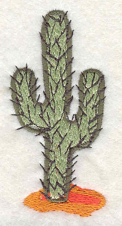 """Embroidery Design: Cactus C3.13""""H x 1.45""""W"""