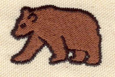 Embroidery Design: Bear C1.69w X 1.11h