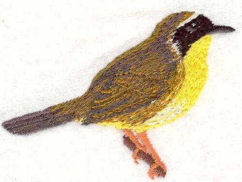 Embroidery Design: Bird 1 1.97w X 2.83h