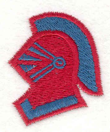 "Embroidery Design: Knight 11.89"" X 1.59"""
