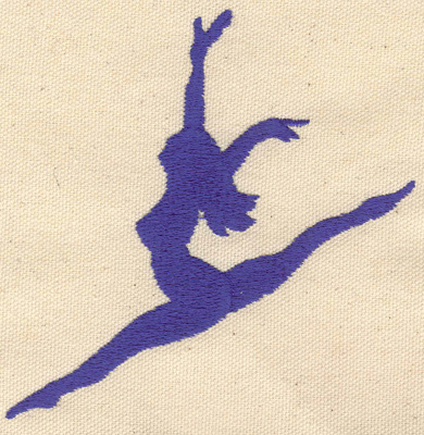 Embroidery Design: Dancer A 4.29w X 4.30h