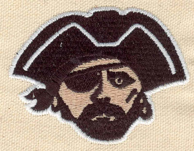 Embroidery Design: Pirate B 2.70w X 2.10h