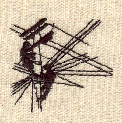 Embroidery Design: Lineman 1.74w X 1.57h