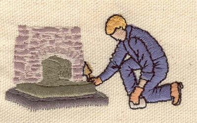 Embroidery Design: Mason 2.76w X 2.48h