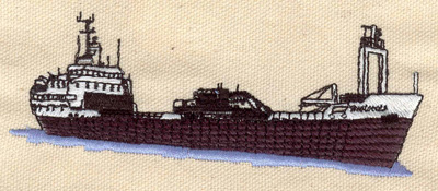 Embroidery Design: Freightliner 4.70w X 1.84h