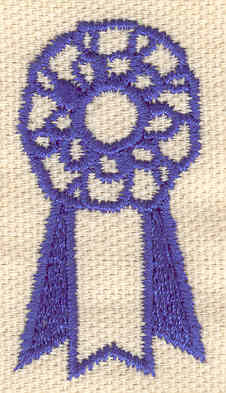 Embroidery Design: First Prize 0.96w X 1.81h