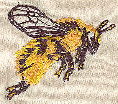 Embroidery Design: Bee 1.86w X 1.63h