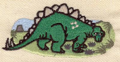 Embroidery Design: Dinosaur Stegosaurus 3.15w X 1.52h
