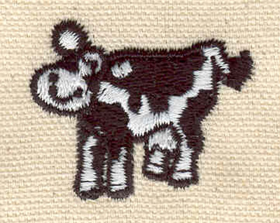 Embroidery Design: Jersey cow 1.47w X 1.19h