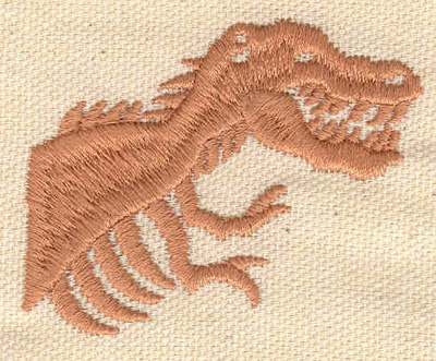 Embroidery Design: Tyrannosaurus Rex Fossil 2.22w X 1.83h