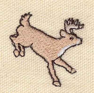 Embroidery Design: Caribou B 1.35w X 1.31h