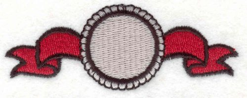 """Embroidery Design: Banner 81.16"""" x 3.14"""""""