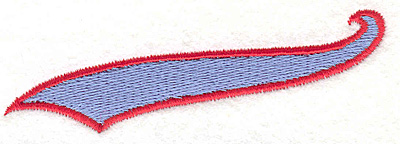 """Embroidery Design: Banner 101.06"""" x 3.49"""""""