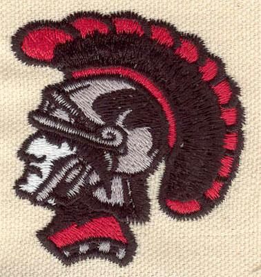 Embroidery Design: Roman solider 2.10w X 2.28h