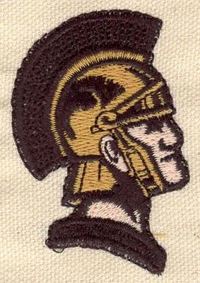 Embroidery Design: Trojan warrior 1.60w X 2.40h