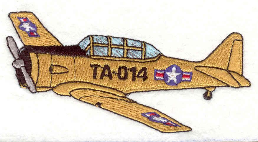 Embroidery Design: Plane<br>2.05w X 4.12h