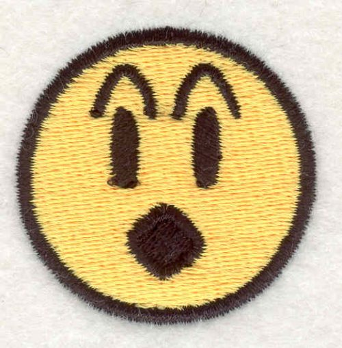"""Embroidery Design: Smiley Face 131.51""""x1.54"""""""