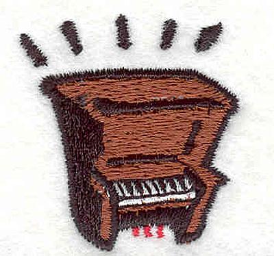 """Embroidery Design: Piano  1.53"""" X 1.43"""""""