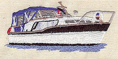 Embroidery Design: Cabin Cruiser 3.19w X 1.45h