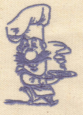 Embroidery Design: Cook1.94w X 2.63h