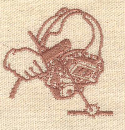 Embroidery Design: Welder 2.26w X 2.26h