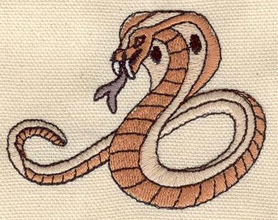 Embroidery Design: Cobra B 2.85w X 2.20h
