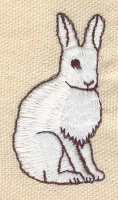 Embroidery Design: Rabbit 1.12w X 2.11h