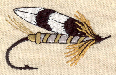 Embroidery Design: Fishing lure B 2.87w X 1.70h