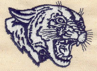 Embroidery Design: Cougar 2.98w X 2.30h