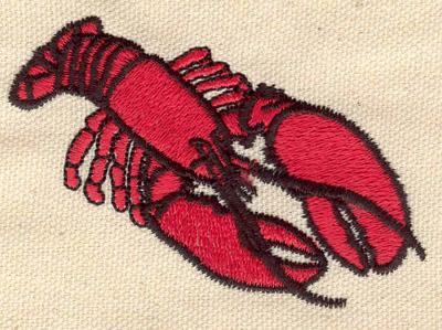 Embroidery Design: Lobster E 3.04w X 2.04h